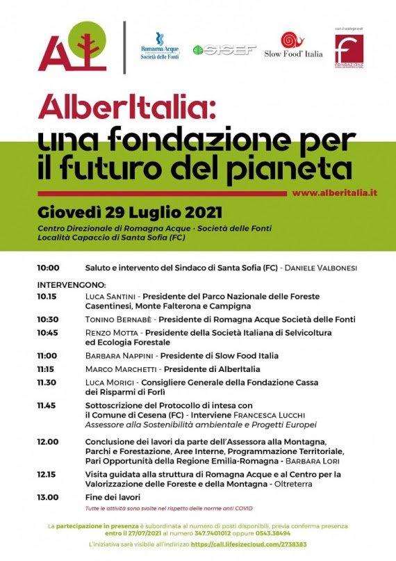 La Fondazione AlberItalia si presenta